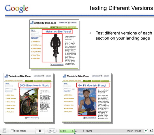 Google Website Optimizer: 7 Powerful Tests